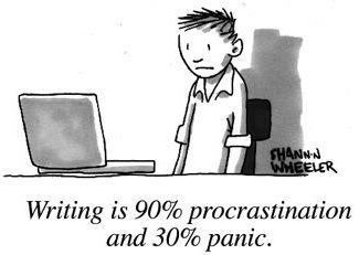 writing is